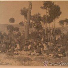 Postales: POSTAL SOLDADOS, ESCRITA, ÉPOCA DE ALFONSO XIII. Lote 11001599