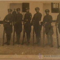 Postales: POSTAL SOLDADOS, ESCRITA. Lote 11001620