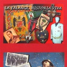 Postales: DOS POSTALES DE FALANGE FALANGE EN LAS TRINCHERAS Y LA FALANGE, HISTORIA VIVA. Lote 22967742