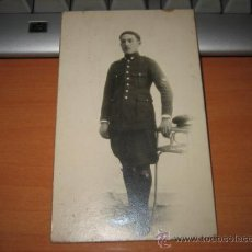 Postales: MILITAR FOTOGRAFO BARIEGO MADRID 1927. Lote 12155427