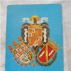 Postales: POSTAL DEL ESCUDO NACIONAL EDITORIAL PATRIMONIO NACIONAL EPOCA DE FRANCO. Lote 12157011
