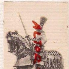 Postales: ANTIGUA POSTAL REAL ARMERIA MADRID ARNES DE JUSTA ECUESTRE DE CARLOS V FOTOTIPIA HAUSER MENET. Lote 12575885