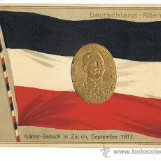 Postales: ALEMANIA, BANDERAS, KAISER. Lote 18361139