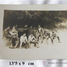 Postales: FOTO POSTAL MILITAR 1922 TROPAS ESPAÑOLAS EN AFRICA. Lote 21094697