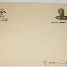 Postales: ANTIGUO FOLIO PATRIOTICO CON FRANCO - SALUDO A FRANCO !ARRIBA ESPAÑA!.. Lote 14284720