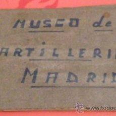 Postales: 12 POSTALES DEL MUSEO DE ARTILLERÍA DE MADRID. Lote 14338451