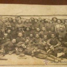 Postales: POSTAL GRUPO DE SOLDADOS, 1927 AL DORSO. Lote 14341784