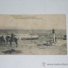 Postales: CAMPAÑA DEL RIF . 1921 . MONTE ARRUIT . VISTA DEL POBLADO DESDE LA ENTRADA A LA POSICIÓN . . Lote 26988386