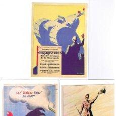 Postales: Iª GARRA MUNDIAL - REPRODUCCIONES ORIGINALES DE CARTELES EDIT. ART ETCOLLETTIONS - JEANNN. Lote 23912354