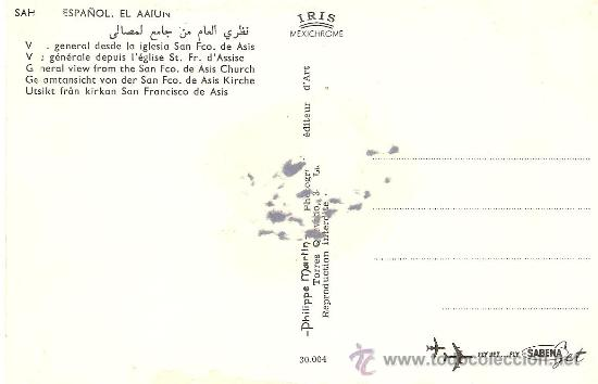 Postales: pequeños restos de haber estado pegada. - Foto 2 - 27558959
