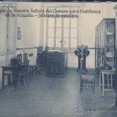Postales: 1916.POSTAL DE LA JEFATURA DE ESTUDIOS DEL COLEGIO DE HUÉRFANOS DE LA ARMADA. Lote 16311269
