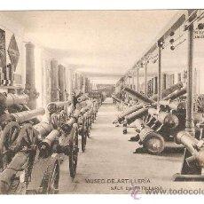 Postales: MUSEO DE ARTILLERIA. SALA DE ARTILLERIA. FOTOTIPIA DE HAUSER Y MENET. Lote 26437653