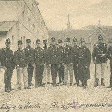 Postales: LUXEMBURGO. UNIFORMES DE LOS SOLDADOS. HACIA 1910.. Lote 16795639