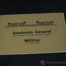 Postales: BLOC CON 22 POSTALES DE LA ACADEMIA GENERAL MILITAR DE ZARAGOZA.. Lote 26830864