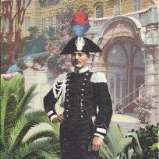 Postales: PS3041 POSTAL 'ESERCITO ITALIANO R. R. CARABINIERE'. SERIE MILITARI. SIN CIRCULAR. Lote 18203333