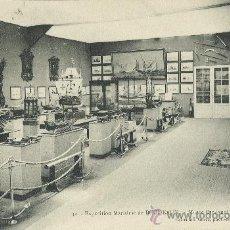 Postales: ARMADA ESPAÑOLA. EXPOSICIÓN MARÍTIMA INTERNACIONAL. BURDEOS 1907. PABELLÓN MUSEO NAVAL.. Lote 18741086