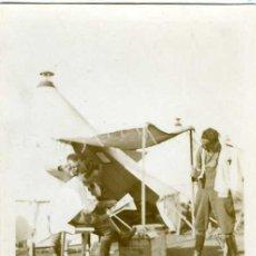 Postales: POSTAL FOTOGRAFICA GUERRA DE MARRUECOS EL PELUQUERO. Lote 19590432