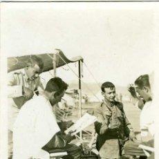 Postales: POSTAL FOTOGRAFICA GUERRA DE MARRUECOS EL PELUQUERO. Lote 19590438