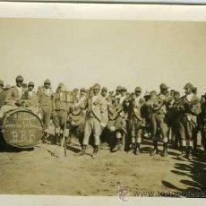Postales: PEQUEÑA FOTOGRAFÍA GUERRA DE MARRUECOS PREPARANDO LA BATALLA. Lote 19590514