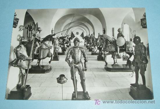 POSTAL REAL ARMERIA. PALACIO REAL (MADRID) (Postales - Postales Temáticas - Militares)