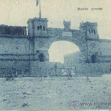 Postales: MARRUECOS. ZONA DE MELILLA.MONTE ARRUIT. ENTRADA AL CAMPAMENTO. HACIA 1925.. Lote 23425499