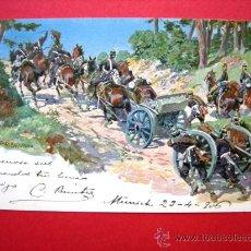 Postales: POSTAL. MÚNICH. 24 DE ABRIL DE 1906. Lote 23574990