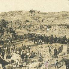 Postales: MELILLA. TAFERSIT. AGUADA. HACIA 1905. POSTAL FOTOGRÁFICA.. Lote 26855265