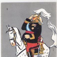 Postales: FIGURINES MILITARES - COL COMPLETA 2 SERIES 20 POSTALES- ILUSTRADAS POR KARIKATO- VER FOTOS -(B-30). Lote 26198103