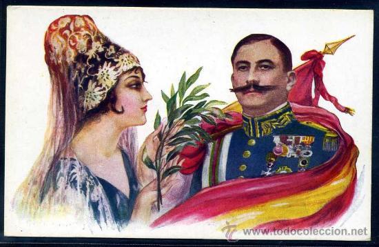 D. DAMASO BERENGUER FUSTE - EDITA RECLAMGRAF ANDRES MIR BARCELONA (Postales - Postales Temáticas - Militares)