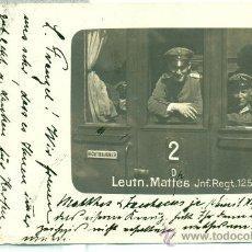 Postales: ALEMANIA. I GUERRA MUNDIAL. FOTOGRÁFICA. CIRCULADA EN 1914. Lote 28521198