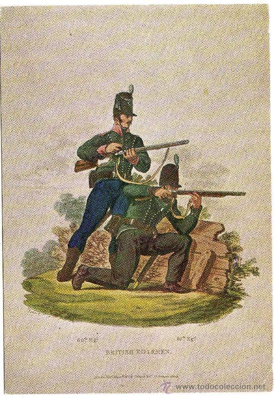 BONITA POSTAL (REPRODUCCION) - SOLDADOS (Postales - Postales Temáticas - Militares)