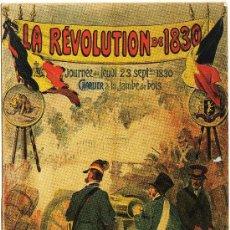 Postales: BONITA POSTAL (REPRODUCCION) - LA REVOLUCION DE 1830 (POSTAL MODERNA). Lote 28895836