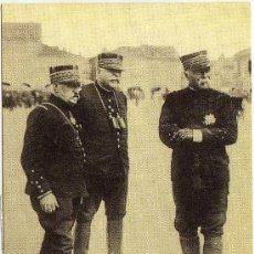 Postales: BONITA POSTAL (REPRODUCCION) - GUERRA DE 1914 - GENERALES: CASTELNAU - JOFRE Y PAU. Lote 28895927