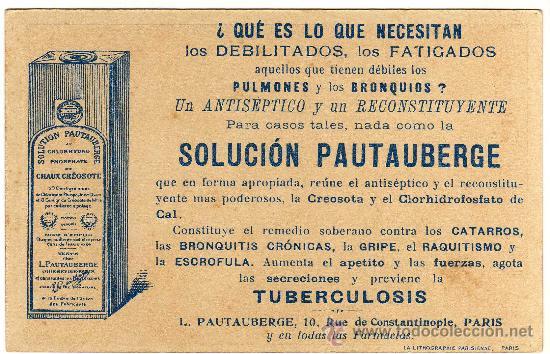 Postales: MAGNIFICA POSTAL - GENERAL MANGIN (FRANCIA) - PUBLICIDAD SOLUCION PAUTAUBERGE - Foto 2 - 28893772