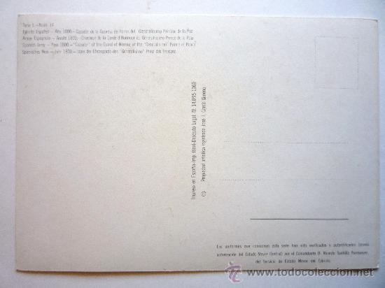 Postales: POSTAL CAZADOR DE LA GUARDIA DE HONOR DEL GENERALISIMO PRINCIPE DE LA PAZ - Foto 2 - 29042720