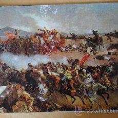 Postales: POSTAL DE LA BATALLA DE TETUAN DE FORTUNY. ESCRITA POR DETRÁS CON DATOS DE LA GUERRA CIVIL.. Lote 29276215