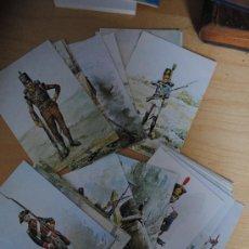 Postales: 27 POSTALES SOBRE UNIFORMES DEL EJERCITO PORTUGUES. BASADAS EN LAS ACUARELAS DEL CORONEL ARTHUR. Lote 29277752