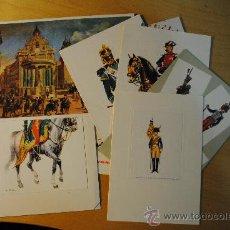 Postales: CONJUNTO DE 14 POSTALES VARIADAS SOBRE EL EJERCITO EUROPEO. ESCRITAS. Lote 29278282