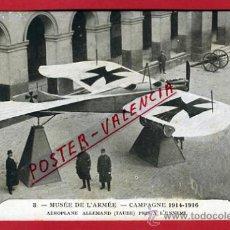 Postales: POSTAL MILITAR, MUSEO DE ARMERIA, CAMPAÑA 1914-1916, AEROPLANO, AVION, P66315. Lote 30002130