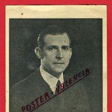 Cartoline: POSTAL MILITAR, S.A.R. DON JUAN DE BORBON Y BATTENBERG, P66328. Lote 30002348