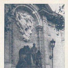 Postales: MONUMENTO A LOS MARTIRES DE LA GUERRA DE LA INDEPENDENCIA DE 1808. Lote 30539513