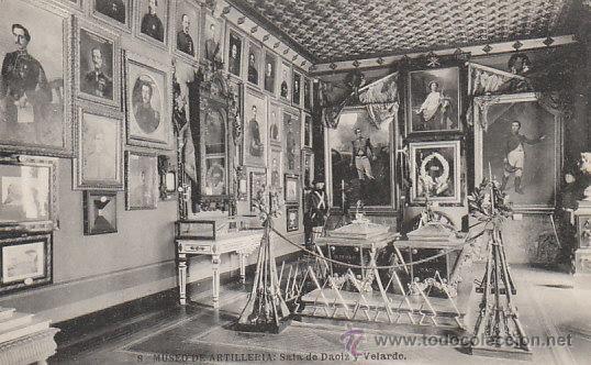 MUSEO DE ARTILLERIA DE MADRID, SALA DAOIZ Y VELARDE, EDITOR: HAUSER Y MENET Nº 8 (Postales - Postales Temáticas - Militares)