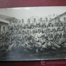 Postales: COMPAÑIA MILITARES - AFRICA - POSTAL FOTOGRAFICA. Lote 30719220