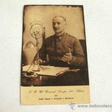 Postales: POSTAL DEL GENERAL QUEIPO DE LLANO - JALON ANGEL ZARAGOZA - GRAFICAS TOLOSA. Lote 31252349