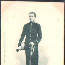 Postales: TARJETA POSTAL DE S.M DON ALFONSO XIII. REY DE ESPAÑA. 415. HAUSER Y MENET. SELLO DE EL PELON. Lote 31952087