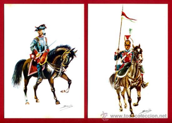 Postales: LOTE SERIE DE 18 POSTALES MILITARES ILUSTRADAS 1969 , ORIGINALES, VER FOTOS ADICIONALES - Foto 5 - 32501221