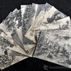 Postales: LOTE DE 13 POSTALES ALEMANAS. TEMA . TROPAS RUSAS, ALEMANAS, ETC.... Lote 32688725