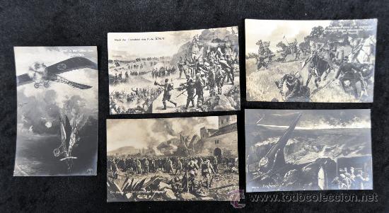 Postales: LOTE DE 13 POSTALES ALEMANAS. TEMA . TROPAS RUSAS, ALEMANAS, ETC... - Foto 5 - 32688725