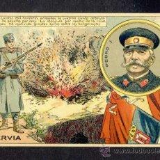 Postales: POSTAL DE TEMA MILITAR: SERBIA. ILUSTRADOR JOSEP PASSOS (ED.FAIDELLA NUM. 13). Lote 32677476