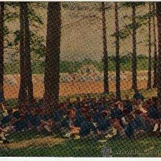 Postales: POSTAL FRENTE DE JUVENTUDES FALANGE CAMPAMENTO VICTORIA 1947. Lote 33415341